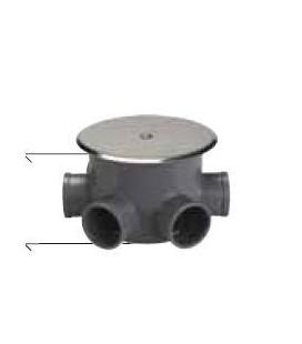 BOTE SIFONICO PVC C-140-BAJA COTA 061140 TAPA CIEGA