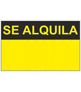 "CARTEL ""SE ALQUILA""(35X45)RD50401"