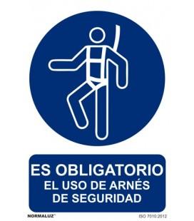 CARTEL USO OBLIGATORIO DEL ARNES RD20001