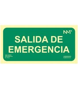 EVACUACION SALIDA EMERGENCIA LUMINISO.RD13106
