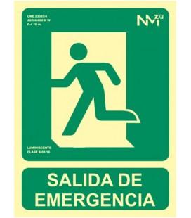 SALIDA EMERGENCIA. IZQ.LUMINOSO RD14181