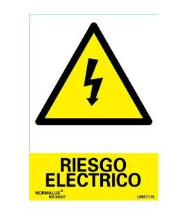 SEÑAL RIESGO ELECTRICO 21X30 RD 30007