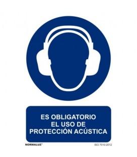 USO OBLIGATORIO PROTECTOR ACUSTICO RD20015