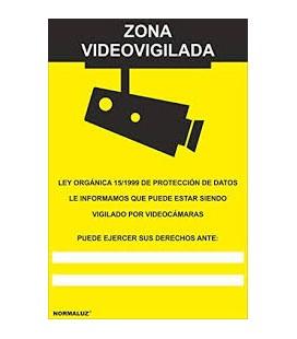 SEÑAL ZONA VIDEOVIGILADA RD30042