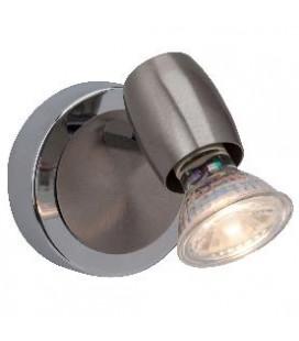 APLIQUE MURAL WESLEY LED 2.5W 1LUZ PALERMO 1001