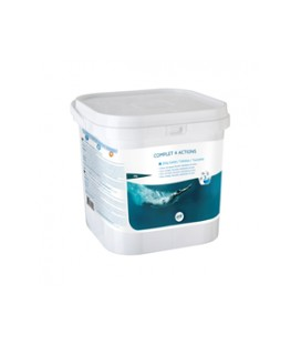 CLORO TABLETA 250G MULTIFUNCIONES 5KG 76006 POOL EXPERT
