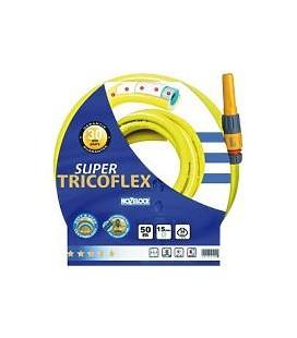 MANGUERA SUPERTRICOFLEX 15MMx 50 METROS AMARILLA 139084 HOZELOCK
