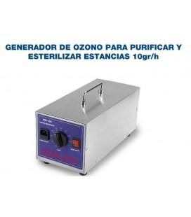 GENERADOR DE OZONO PARA PURIFICAR Y ESTERILIZAR ESTANCIAS10gr/h