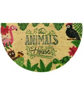 "FELPUDO COCO BLANCO ""ANIMALS HOUSE"" 40X70. 55555 ASTUR DINTEX"