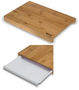 TABLA CORTE BAMBU 3.4x38x25.8cm