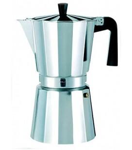 CAFETERA ALUMINIO NEW VITRO 3 TAZAS 215010200 CENTREX