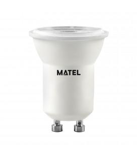 BOMBILLA LED DICROICA 36º MR11 GU10 3W.CAL METAL ALFA