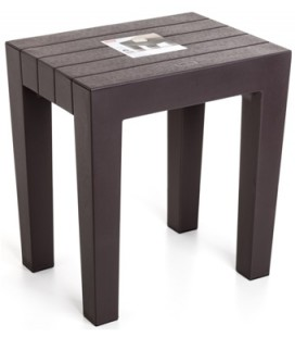 TABURETE LOMBOK 4436500 MARRON (38x29x41)